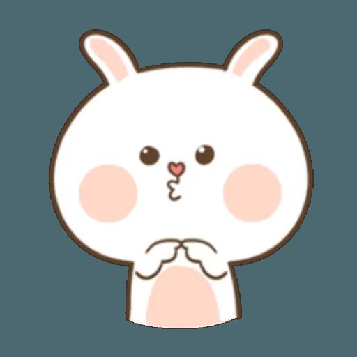 Puffy Rabbit 1 - Sticker 4