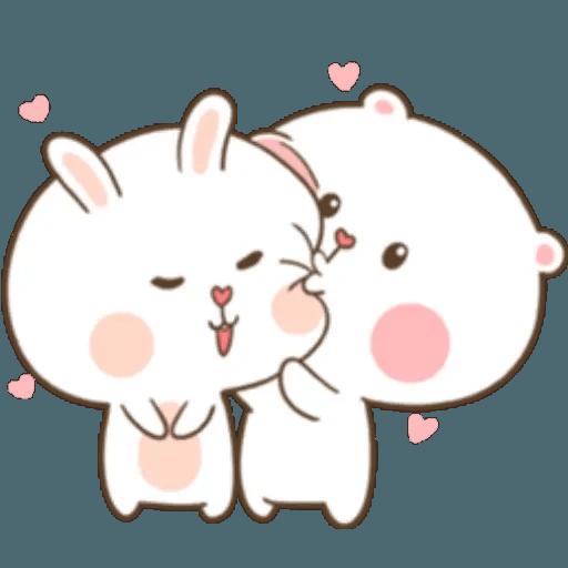 Puffy Rabbit 1 - Sticker 13
