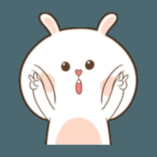 Puffy Rabbit 1 - Sticker 22