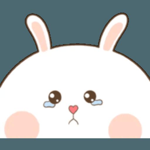 Puffy Rabbit 1 - Sticker 2