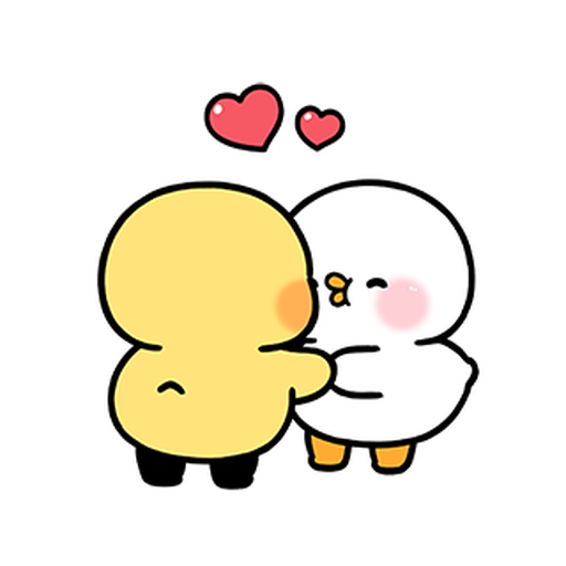 cute and lively ducks 2 - Sticker 1