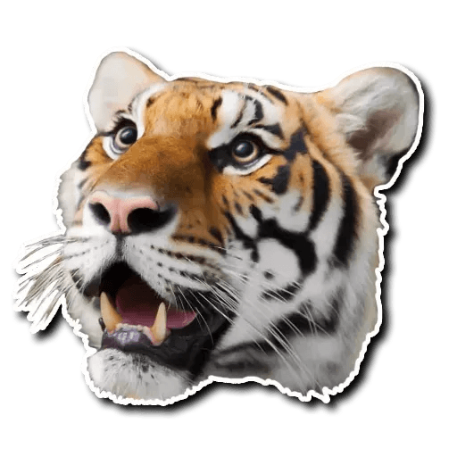 Tiger - Sticker 10