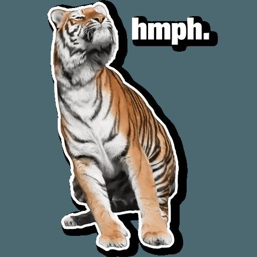 Tiger - Sticker 11
