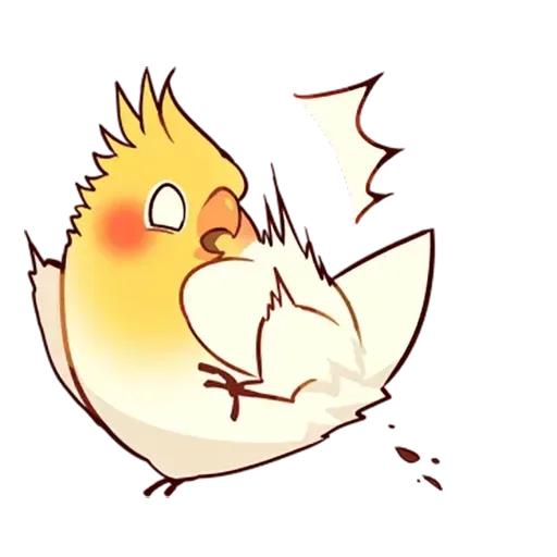 cockatiel - Sticker 29