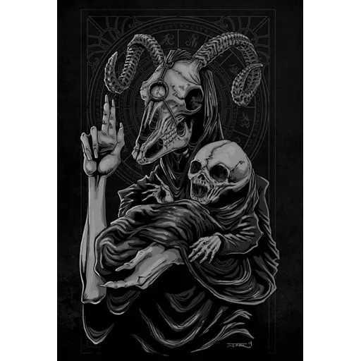 Satan - Sticker 22