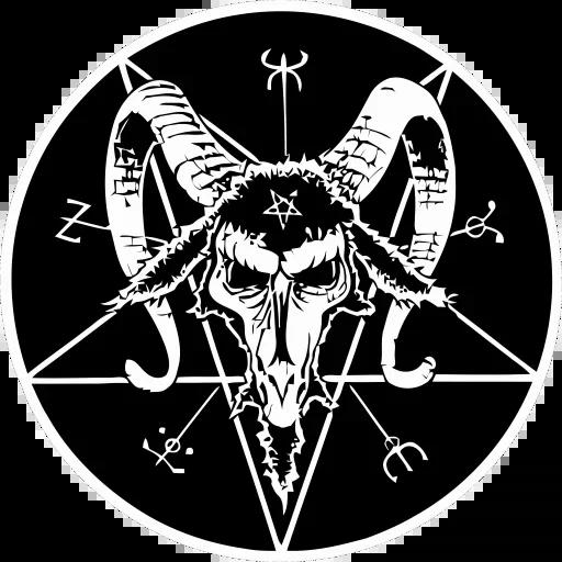 Satan - Sticker 4