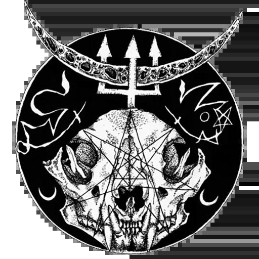 Satan - Sticker 11