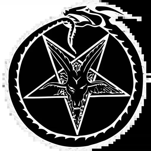 Satan - Sticker 5