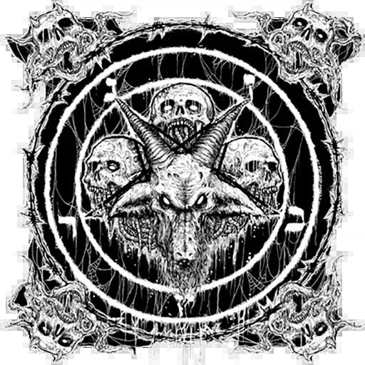 Satan - Sticker 12