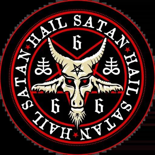 Satan - Sticker 6