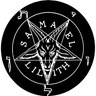 Satan - Tray Sticker