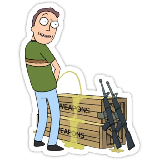 Rick & Morty - Sticker 22