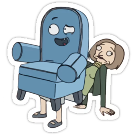 Rick & Morty - Sticker 10
