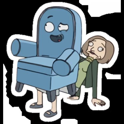 Rick & Morty - Sticker 10