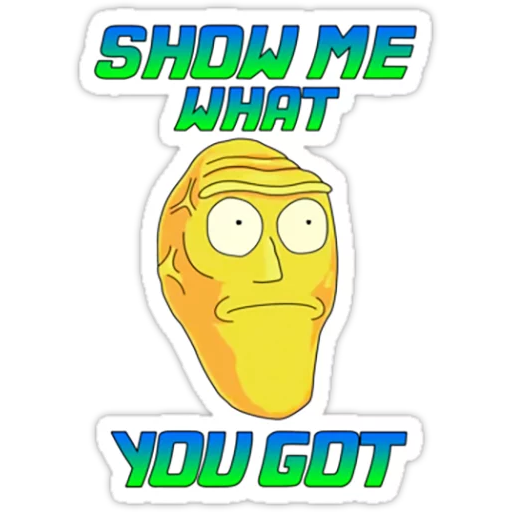 Rick & Morty - Sticker 14