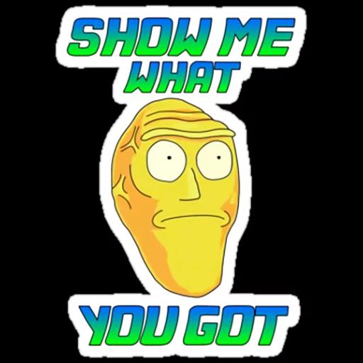 Rick & Morty - Sticker 14