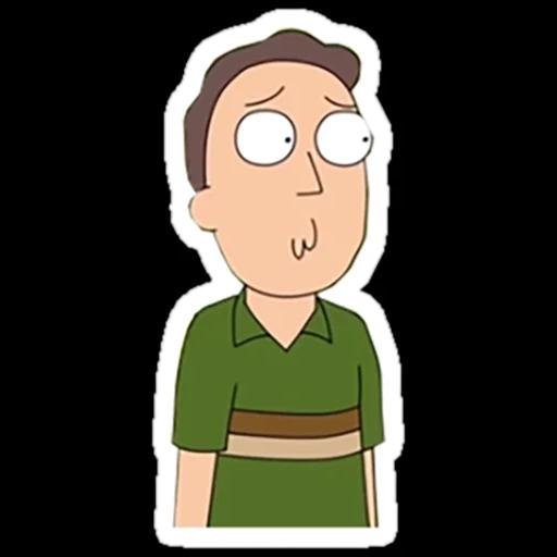 Rick & Morty - Sticker 18