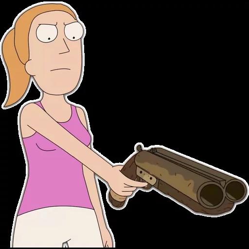 Rick & Morty - Sticker 7
