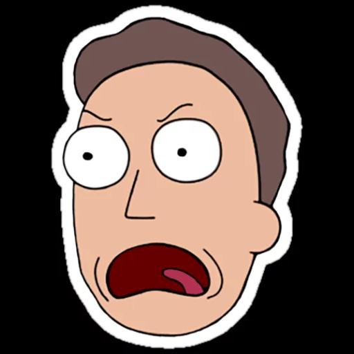 Rick & Morty - Sticker 17