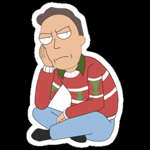 Rick & Morty - Sticker 24