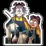 Rick & Morty - Tray Sticker