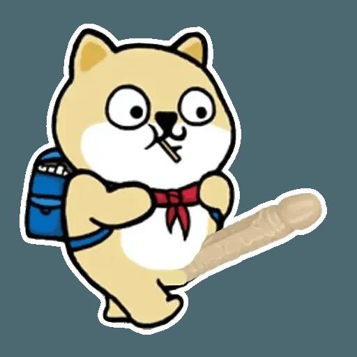 小肥柴 - Sticker 24