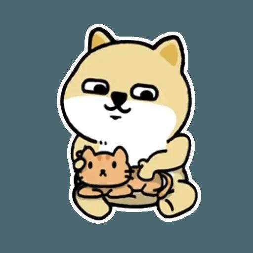 小肥柴 - Sticker 14