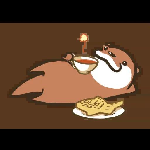 Otter Kotsumetti2.1 - Sticker 20