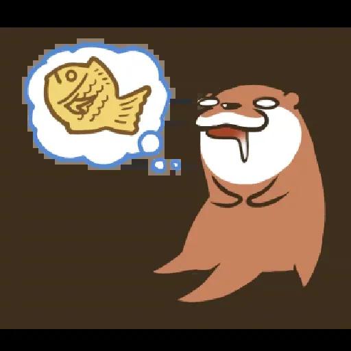 Otter Kotsumetti2.1 - Sticker 14