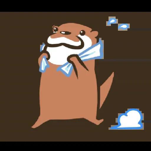 Otter Kotsumetti2.1 - Sticker 17