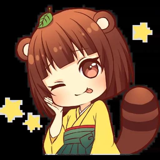 Tanuki - Sticker 2