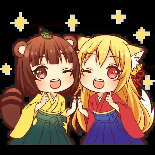 Tanuki - Sticker 4