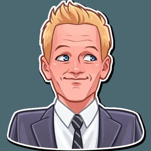 Barney Stinson - Sticker 18
