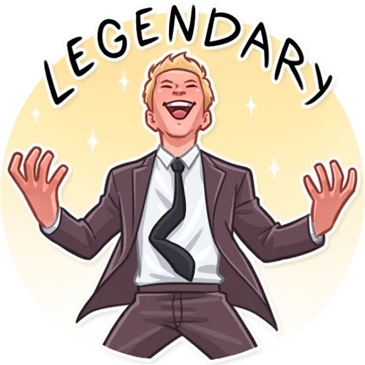 Barney Stinson - Sticker 19