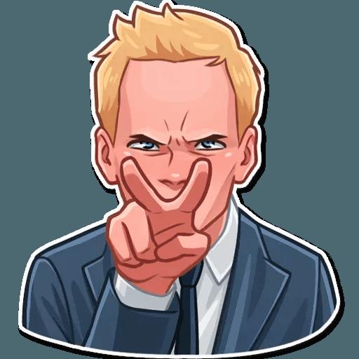 Barney Stinson - Sticker 11
