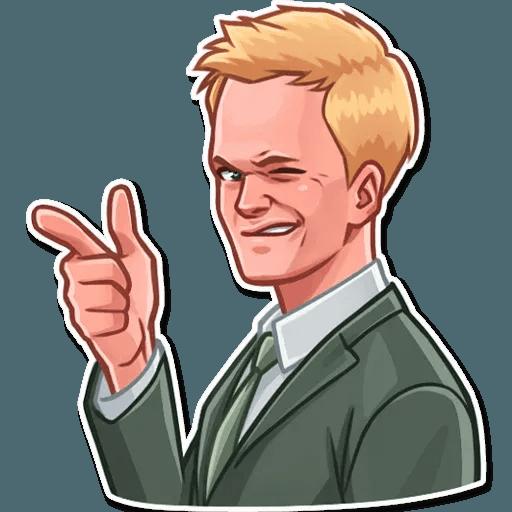 Barney Stinson - Sticker 9