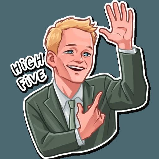 Barney Stinson - Sticker 12