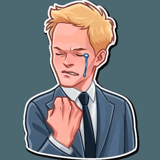 Barney Stinson - Sticker 17