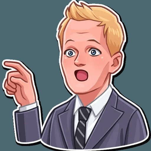 Barney Stinson - Sticker 14