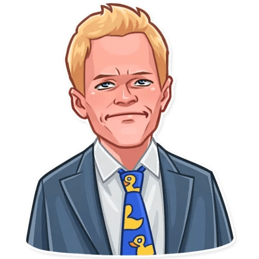 Barney Stinson - Sticker 13