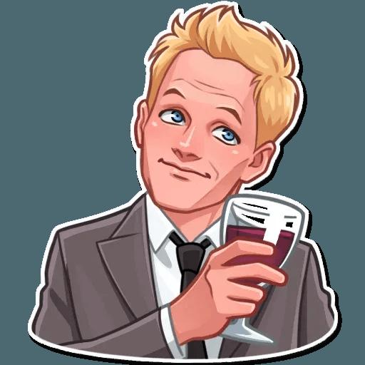 Barney Stinson - Sticker 8