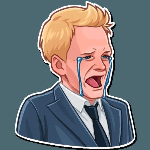 Barney Stinson - Sticker 7