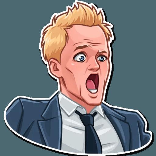 Barney Stinson - Sticker 4