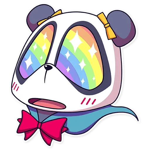 Panda chan - Sticker 9
