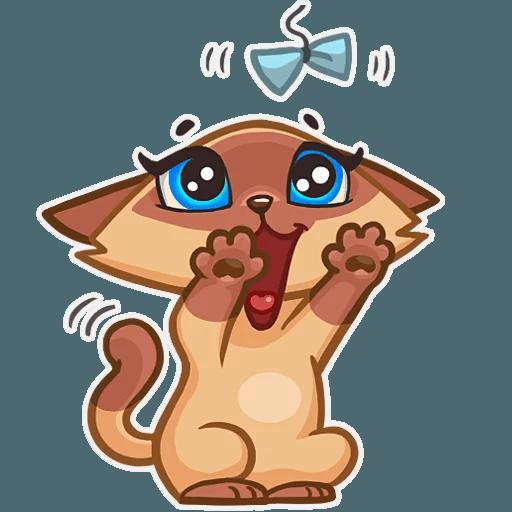 Lady cat - Sticker 24