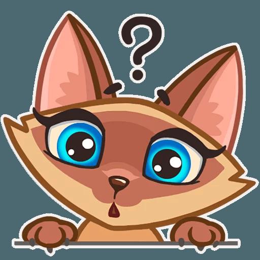Lady cat - Sticker 9