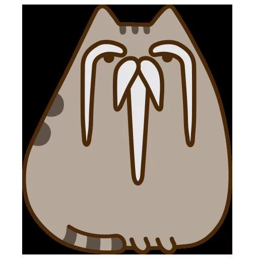 fat cat 3 - Sticker 5