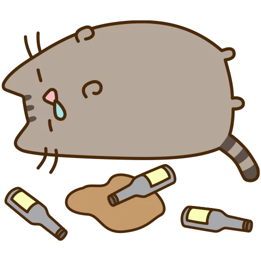 fat cat 3 - Sticker 1