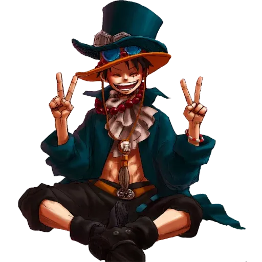 Luffy - Sticker 30