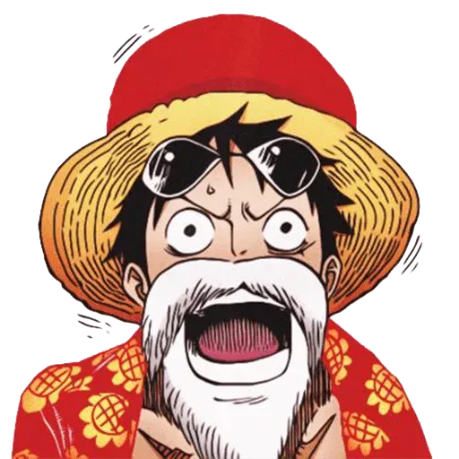 Luffy - Sticker 2